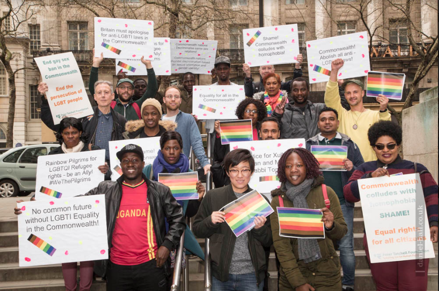 'LGBT+ Voices of the Revolution' week of action hits the streets of London'