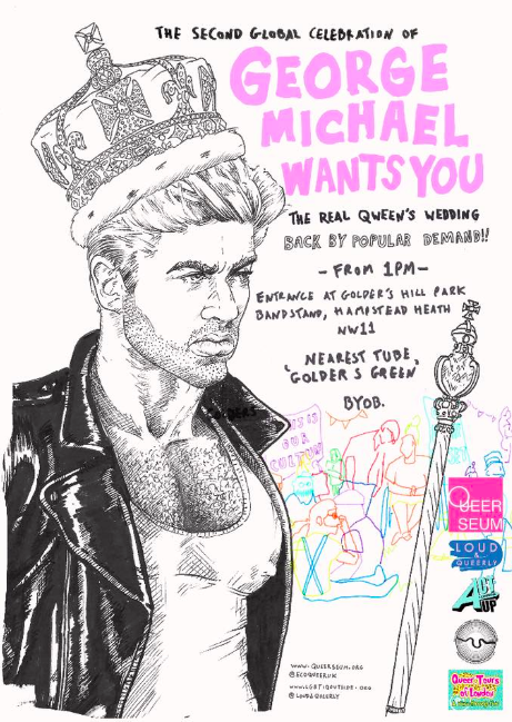 For Immediate Release – 10.5.18.  The Alternative George Michael Royal Wedding