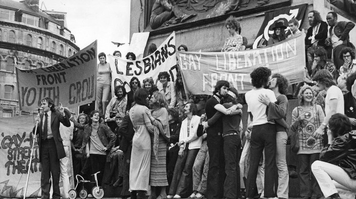 Come and (re)make history! Gay Liberation Front (GLF) recreate first Pride in London